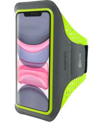 Mobiparts Comfort Fit Sport Armband Apple iPhone 11 Sporthoesje Groen