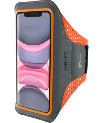 Mobiparts Comfort Fit Sport Armband Apple iPhone 11 Sporthoesje Oranje