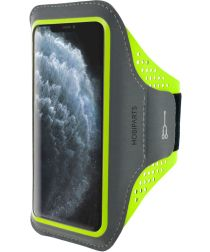 Mobiparts Comfort Fit Sport Armband Apple iPhone 11 Pro Max Groen