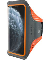 Mobiparts Comfort Fit Sport Armband Apple iPhone 11 Pro Max Oranje