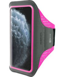 Mobiparts Comfort Fit Sport Armband Apple iPhone 11 Pro Max Roze