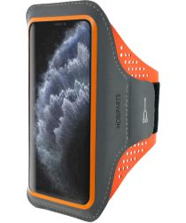 Mobiparts Comfort Fit Sport Armband Apple iPhone 11 Pro Oranje