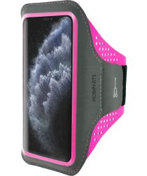 Mobiparts Comfort Fit Sport Armband Apple iPhone 11 Pro Roze