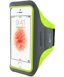 Mobiparts Comfort Fit Sport Armband Apple iPhone 5 / 5S / SE Groen
