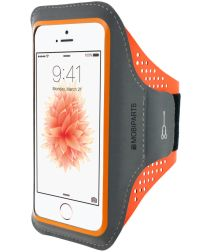 Mobiparts Comfort Fit Sport Armband Apple iPhone 5 / 5S / SE Oranje