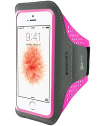 Mobiparts Comfort Fit Sport Armband Apple iPhone 5 / 5S / SE Paars