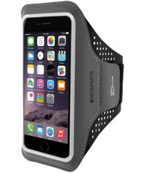 Mobiparts Comfort Fit Sport Armband iPhone 6S / 7 / 8 Plus Zwart