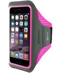 Mobiparts Comfort Fit Sport Armband iPhone 6S / 7 / 8 Plus Roze