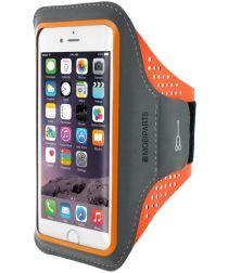 Mobiparts Comfort Fit Sport Armband iPhone 7 / 8 / SE 2020 Oranje