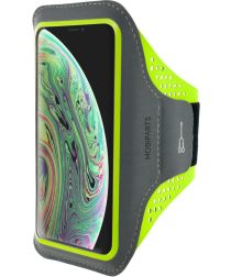 Mobiparts Comfort Fit Sport Armband Apple iPhone X / XS Groen