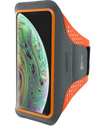 Mobiparts Comfort Fit Sport Armband Apple iPhone X / XS Oranje