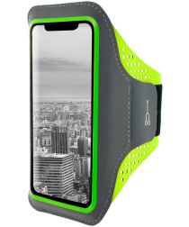 Mobiparts Comfort Fit Sport Armband Apple iPhone XR Sporthoesje Groen