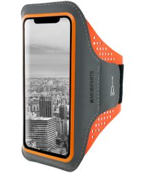 Mobiparts Comfort Fit Sport Armband Apple iPhone XR Sporthoesje Oranje