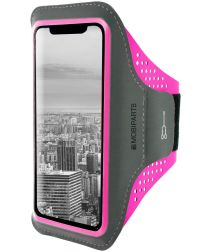 Mobiparts Comfort Fit Sport Armband Apple iPhone XR Sporthoesje Roze
