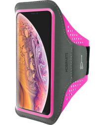 Mobiparts Comfort Fit Sport Armband Apple iPhone XS Max Roze