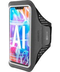 Mobiparts Comfort Fit Sport Armband Huawei Mate 20 Lite Zwart