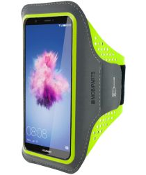 Mobiparts Comfort Fit Sport Armband Huawei P Smart Groen