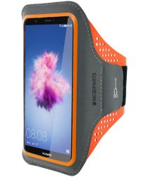 Mobiparts Comfort Fit Sport Armband Huawei P Smart Oranje