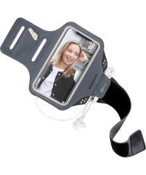 Mobiparts Comfort Fit Sport Armband Huawei P20 Lite Zwart
