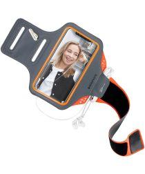 Mobiparts Comfort Fit Sport Armband Huawei P20 Lite Oranje