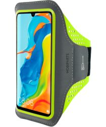 Mobiparts Comfort Fit Sport Armband Huawei P30 Lite Groen