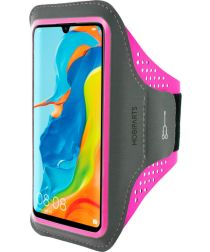 Mobiparts Comfort Fit Sport Armband Huawei P30 Lite Roze