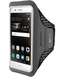 Mobiparts Comfort Fit Sport Armband Huawei P9 Lite Zwart