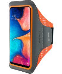 Mobiparts Comfort Fit Sport Armband Samsung Galaxy A20e Oranje