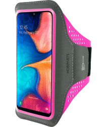 Mobiparts Comfort Fit Sport Armband Samsung Galaxy A20e Roze