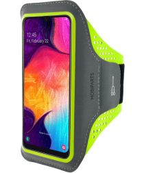 Mobiparts Comfort Fit Sport Armband Samsung Galaxy A40 Groen