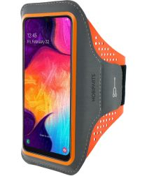 Mobiparts Comfort Fit Sport Armband Samsung Galaxy A40 Oranje