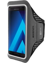 Mobiparts Comfort Fit Sport Armband Samsung Galaxy A5 (2017) Zwart