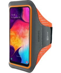 Mobiparts Comfort Fit Sport Armband Samsung Galaxy A50/A30S Oranje