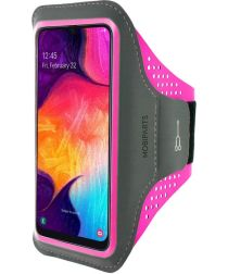 Mobiparts Comfort Fit Sport Armband Samsung Galaxy A50/A30S Roze