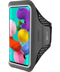 Mobiparts Comfort Fit Sport Armband Samsung Galaxy A51 Zwart