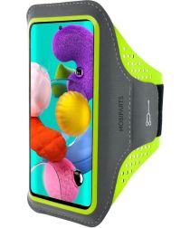 Mobiparts Comfort Fit Sport Armband Samsung Galaxy A51 Groen
