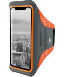 Mobiparts Comfort Fit Sport Armband Samsung Galaxy A7 (2018) Oranje
