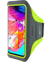 Mobiparts Comfort Fit Sport Armband Samsung Galaxy A70 Groen