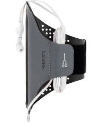 Mobiparts Comfort Fit Sport Armband Samsung Galaxy A71 Zwart