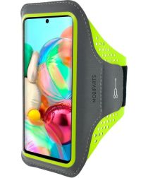 Mobiparts Comfort Fit Sport Armband Samsung Galaxy A71 Groen