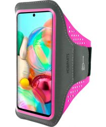 Mobiparts Comfort Fit Sport Armband Samsung Galaxy A71 Roze
