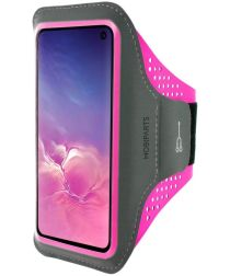 Mobiparts Comfort Fit Sport Armband Samsung Galaxy S10 Plus Roze