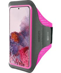 Mobiparts Comfort Fit Sport Armband Samsung Galaxy S20 Roze