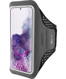 Mobiparts Comfort Fit Sport Armband Samsung Galaxy S20 Plus Zwart
