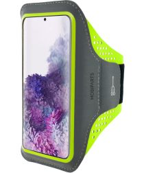 Mobiparts Comfort Fit Sport Armband Samsung Galaxy S20 Plus Groen