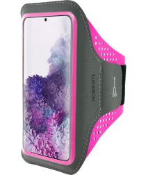 Mobiparts Comfort Fit Sport Armband Samsung Galaxy S20 Plus Roze