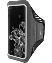Mobiparts Comfort Fit Sport Armband Samsung Galaxy S20 Ultra Zwart