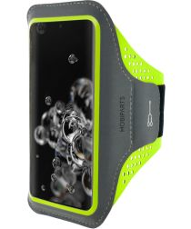 Mobiparts Comfort Fit Sport Armband Samsung Galaxy S20Ultra Groen