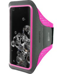Mobiparts Comfort Fit Sport Armband Samsung Galaxy S20 Ultra Roze