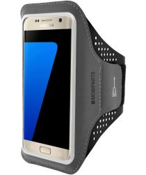 Mobiparts Comfort Fit Sport Armband Samsung Galaxy S7 Zwart